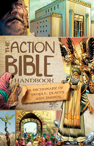The Action Bible Handbook book cover