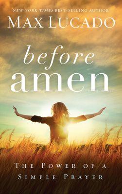 Before Amen book cover