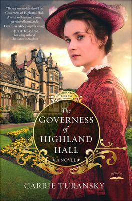 Governess of Highland Hall book cover