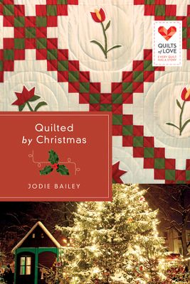 Quilted By Christmas book cover