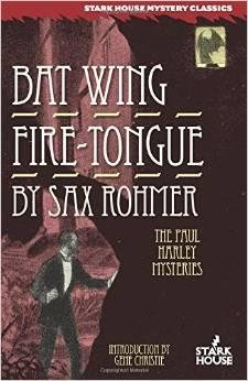 Bat Wing by Sax Rohmer FREE