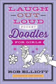 Pocket Doodles for Girls book cover