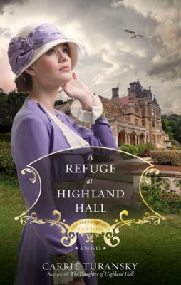 A Refuge At Highland Hall book cover