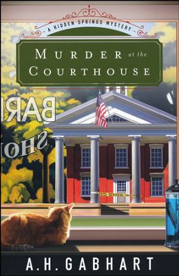 Murder at the Courthouse bok cver