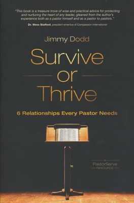 Survive Or Thrive book cover