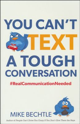 You Can't Text a Tough Conversation book cover