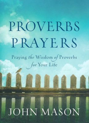 Proverbs Prayers book cover