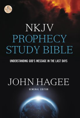 NKJV Prophecy Study Bible book cover