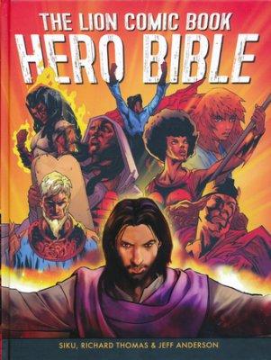 Lion Comic Book Hero Bible book cover