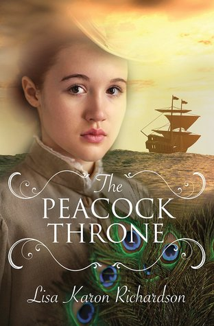 peacock throne book cover