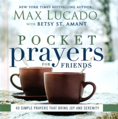 Pocket Prayers For Friends book cover