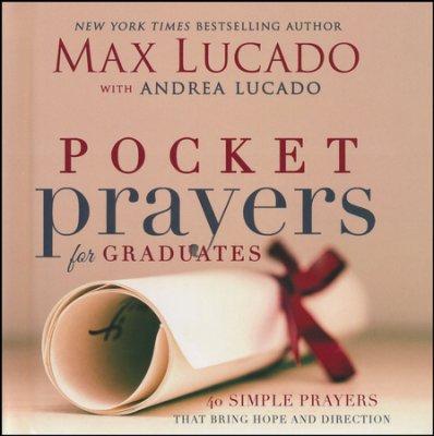 Pocket Prayers For Graduates book cover