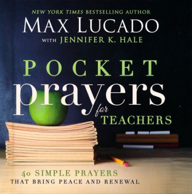 Pocket Prayers For Teachers book cover