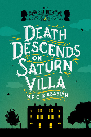 Death Descends on Saturn Villa book cover