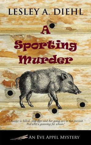 a sporting murder book cover